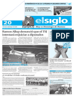 Edicion Impresa El Siglo 20-03-2016