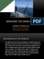 Managing the Sabah Crisis, Jenner Pandan