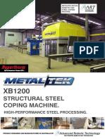 ART Metaltek XB1200 for PDF