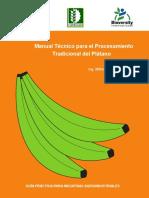 Manual TecnicoProcesamientoTradicionalPlatano