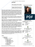 Cristina Fernández de Kirchner - Wikipedia, La Enciclopedia Libre