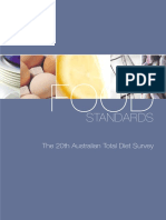 Final 20th Total Diet Survey PDF