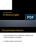 Principles English Paragraph
