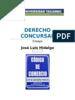 Ensayo Derecho Concursal