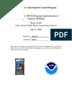 Lake County SWCD Program Implementation / Capacity Building (310-01-07)