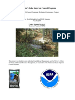 Carlton SWCD Coastal Nonpoint Technical Assistance Project (310-04-07)