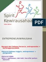 Spirit Wirausaha