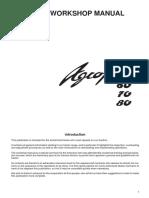 AGROPLUS 60-70-80 Repair manual