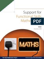 Teacher Support Material Functional Maths Level 2