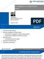 Live Webinar BI in Hybrid Cloud Environment