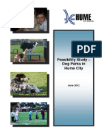 Dog Parks in Hume City - Feasibility Study