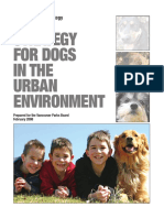 Dogs in the Urban Environment