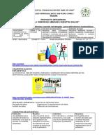 Proyecto Estadistica - Primero Secundaria PDF