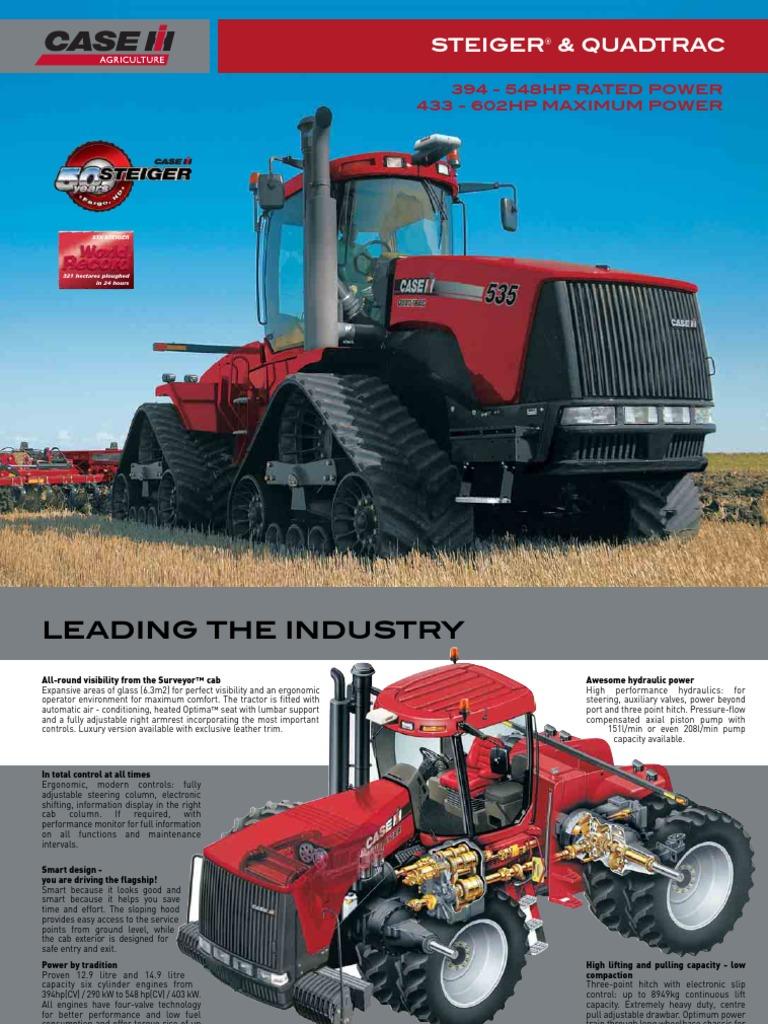 CASE IH Steiger quadtrac | Tractor | Transmission (Mechanics)