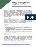 Projecto Basquetebol Tete Massificação Agência Do Zambeze