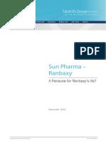 Sun Pharma - Ranbaxy