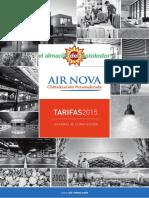 Air Nova Sistema Control de Zonas Tarifa 2015