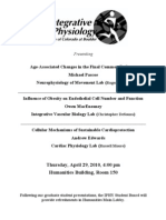 Pascoe Seminar Flier - Dept of Integrative Physiology - April 29, 2010