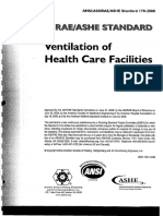 ASHRAE 170-2008 Ventilation of Health Care Facilities