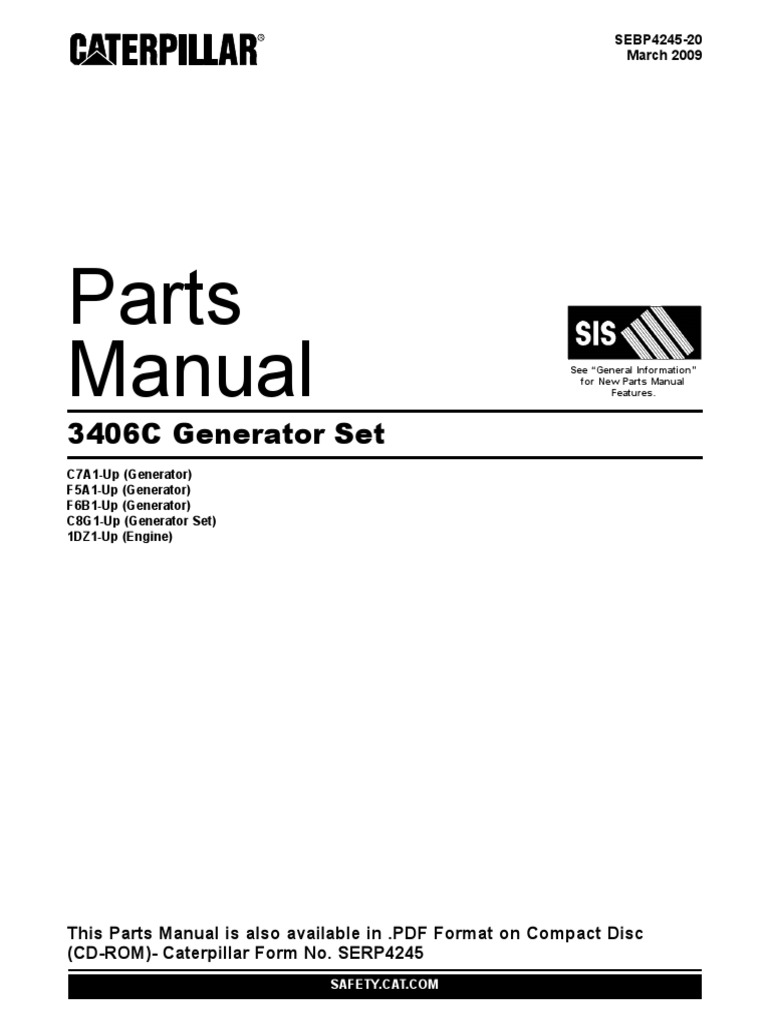 3406c generator set parts manual rh scribd com