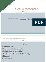Outil de La Recherche(1)