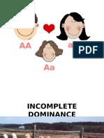 Incomplete Dominance (1)