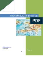 New Hope City Proposal