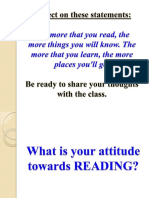 1 Nature and Characteristics of Reading