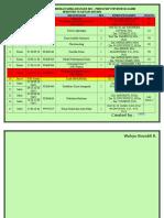 Jadwal Kuliah Pendidikan Kimia Reguler 2013