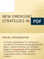 New Emerging Strategies in Ict