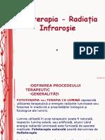 FOTOTERAPIA - Radiatia Infrarosie