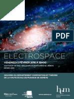 Affiche Electrospace