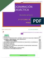 Programación Religion 1ºy2º Raquel Martínez