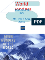 The Seven World Wonders