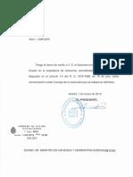Dictamen Consejo Estado Real Decreto Funcionarios Habilitación nacional