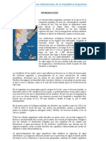Las Regiones Vitivinícolas de La República Argentina