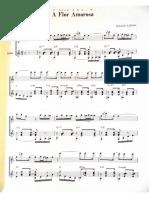 A Flor Amorosa for guitar and flute