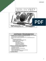 Módulo 1 Formação Em TCC Para Infância e Adolescência Fundamentos Básicos