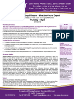 OT Medical Legal Reports- FLYER