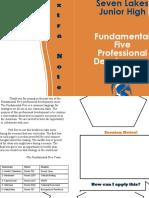 fundamental five booklet