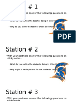 new teacher fun five stations