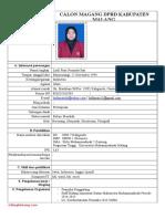 Form Cv Magang Blogbintang