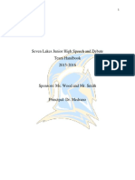 sljh speech and debate handbook