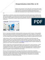 Trik Dan Tips Pada Mempertahankan Sehat filter air Di Rumah Anda