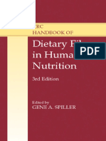 Dietary Fiber in Human Nutrition