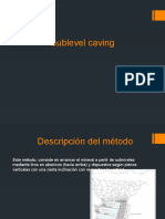 Metodo Sublevel Caving