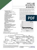 Data Sheet AD1555/AD1556