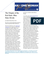 The Origins of the Red State–Blue State Divide