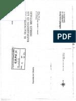 INHELDER, B. - EL DIAGNOSTICO DEL RAZONAMIENTO EN LOS DÉBILES