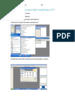 Pasos Para Abrir Visual Basic 6